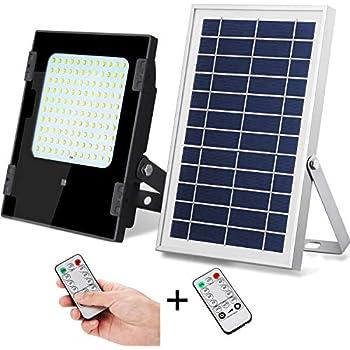 Brillihood 40w Led Solar Panel Security Light 2000 Lumens
