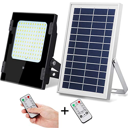 Solar Powered Aluminum 80 Led Security Light