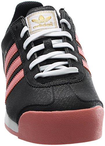 Sneaker Adidas Originali Mens Samoa Uomo Nero / Rosa / Bianco