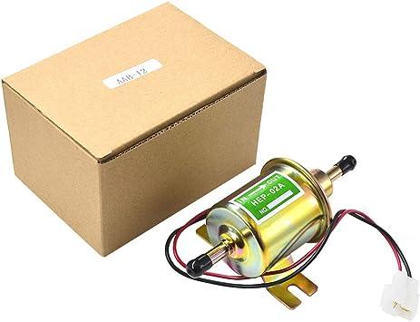 Road Passion 12v Elektrisch Kraftstoffpumpe Benzinpumpe 110lph Selbstansaugend Universal Auto