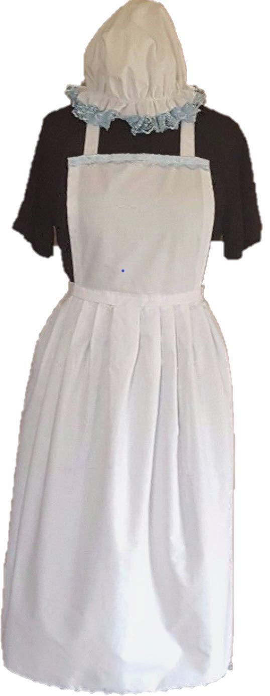 Disfraz para mujer de sirvienta de la época victoriana, tela ...