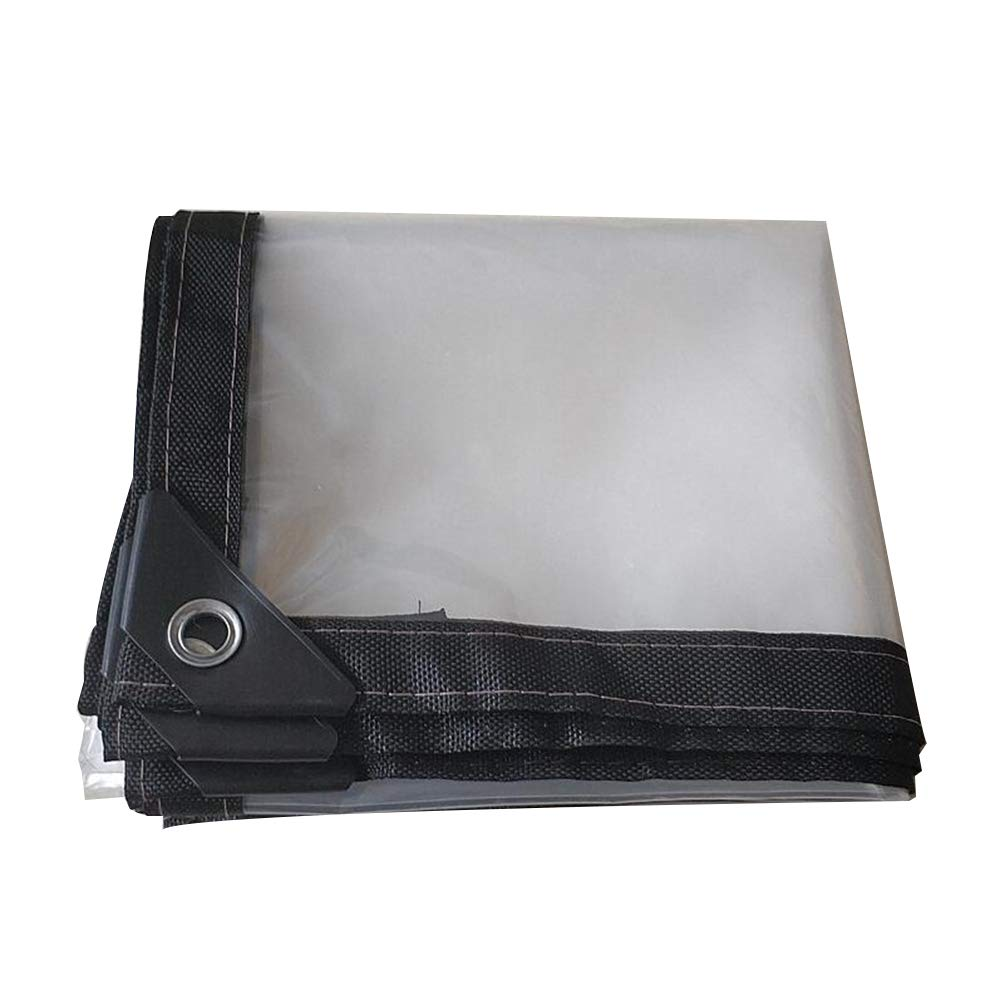 HYJHDD Transparent Tarpaulin Heavy Ribbed Board Market stall Cover,3mx8m by HYJHDD