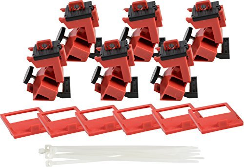 人気TOP Brady TAGLOCK Circuit Device Breaker - Lockout Devices Detachable - 480/600 Volt Clamp-On Single-Pole Breaker Lockout Device with Detachable Cleat No Lock Needed - Red - 148686 (Pack of 25) [並行輸入品] B07J9KCDRQ, CHARA TOY HOUSE:db8992de --- a0267596.xsph.ru