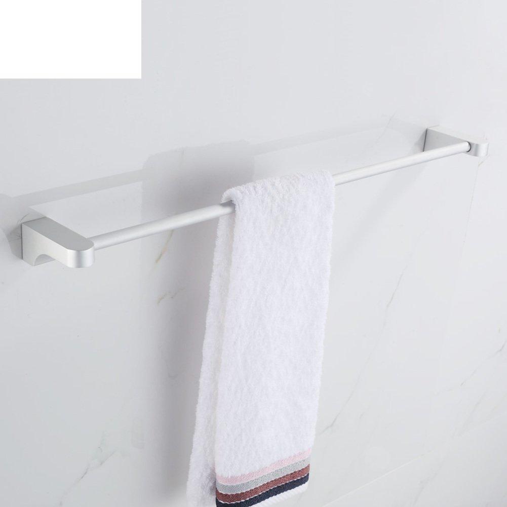 space aluminium towel rail/Single bar/ bathroom hanging rod/ bathroom Towel rack/shelf -B durable modeling