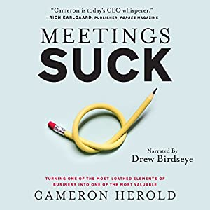 Meetings Suck: Turning One of the Most Loathed Elements of Business into One of the Most Valuable Audiobook