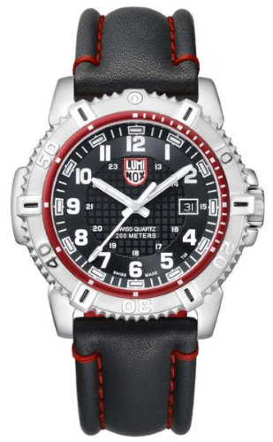 - Luminox Men's 6265 Mariner Analog Display Analog Quartz Black Watch