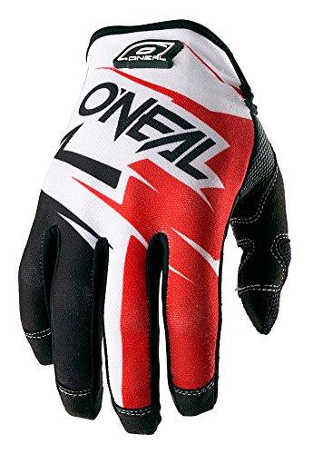 - O'Neal Jump Hardware JAG Unisex-Adult Glove (Black/Red, 8)