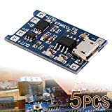 XCSOURCE 5 pcs 1A 5V Micro USB TP4056 Lithium Battery Power Charger Board Module TE420
