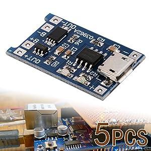 Amazon.com: XCSOURCE 5 pcs 1A 5V Micro USB TP4056 Lithium