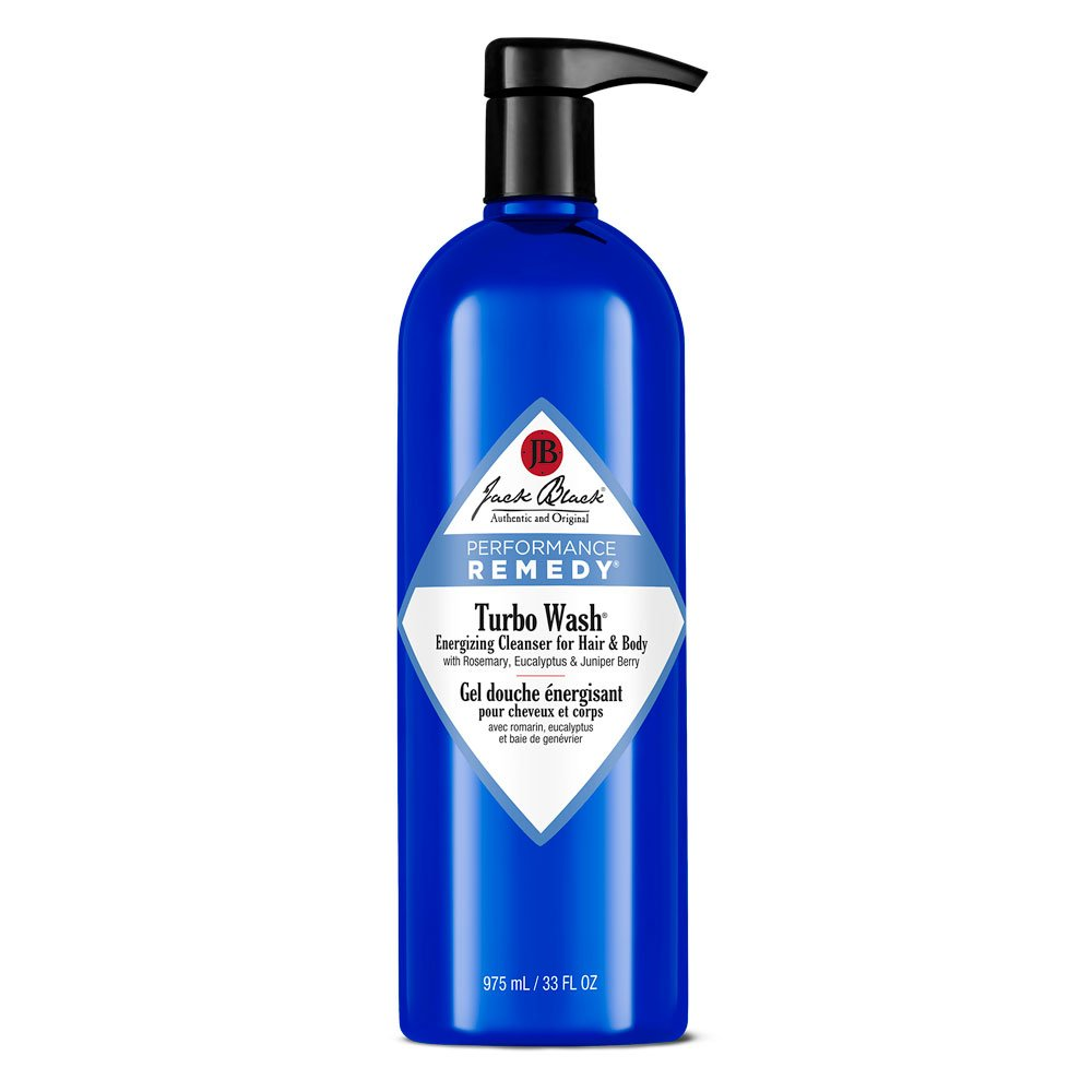 Jack Black Turbo Wash Energizing Cleanser for Hair & Body - 33 oz