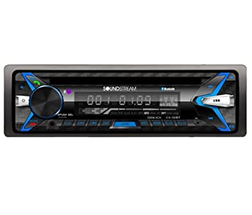 Pioneer DEHX6600BT In-Dash CD/MP3/receptor estéreo de coche con puerto USB