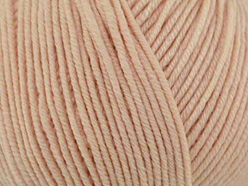 Sublime Baby Cashmere Merino Silk Knitting Yarn DK 437 Buttercream - per 50 gram ball (Merino Dk Yarn)