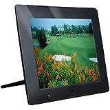 Latest Version - M-zone 8 inch Hi-Res Digital Photo Frame with Motion Sensor