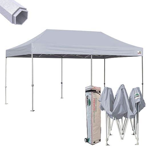 eurmax 10 x 20 Premium EZ Pop Up Canopy instantánea Carpa Boda ...