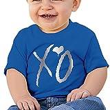 Baby Infant XO Platinum Logo Cute Short-sleeve Tee