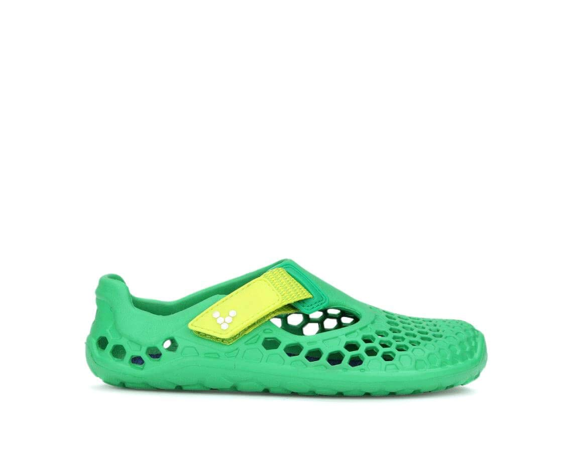 Vivobarefoot Unisex Ultra Kid's Watersports Shoe Walking, Green, 34 D EU Little (3 US)