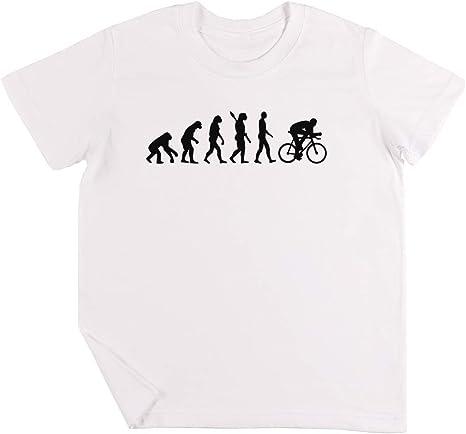 Evolución Ciclismo Bicicleta Niños Chicos Chicas Unisexo Camiseta ...