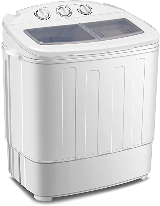 Cocoarm - Mini lavadora 2 en 1 para camping, lavadora de ...