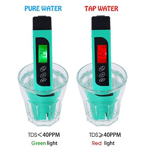 4 Mode Digital Ph Meter For Water Waterproof Ultra Fast