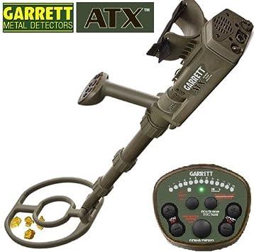 Garrett – Detector de metales ATX para buscar oro, tecnología de inducción pulsada: Amazon.es: Bricolaje y herramientas