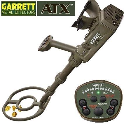 Garrett - Detector de metales ATX para buscar oro, tecnología de inducción pulsada