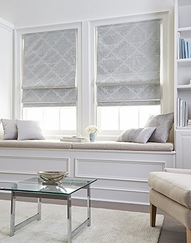 Curtainworks Damask Window Shade, 34