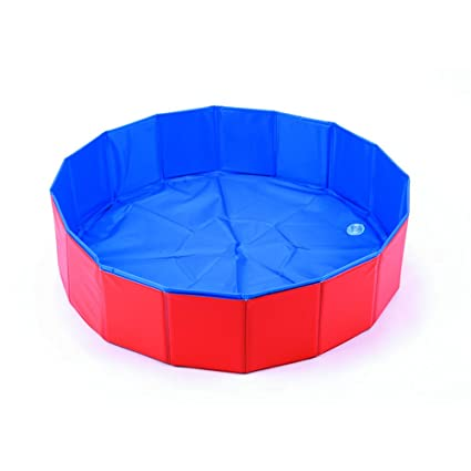 Amazon.com: Pet Swimming Pool, Portable folding Dog Bathing ...