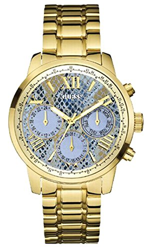 R.guess Sunrise chp.cr.ESF.Azul. W0330L13 Womens Quartz Watch