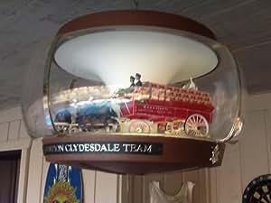 Vintage Budweiser Clydesdale Carousel Light