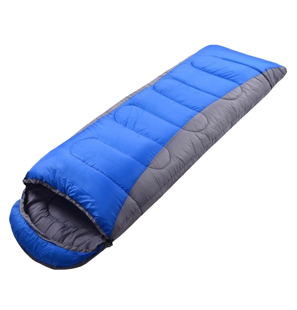 Outdoor-Umschlag-Schlafsack mit Kappe Wasserdicht geringes Gewicht für erwachsenes Camping 1.9kg