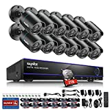Best 16 Channel Dvrs - SANNCE Security Camera System 1080N 16 Channel DVR Review