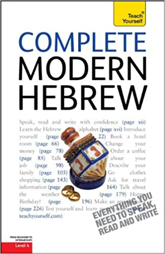 Complete Modern Hebrew: A Teach Yourself Guide (Teach Yourself ...