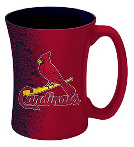 MLB St. Louis Cardinals Mocha Mug, 14-ounce