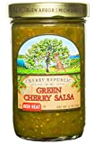 takis seasoning - Cherry Republic Green Cherry Salsa - High Heat Tomatillo Salsa Mix with Authentic Michigan Cherries, Fresh Tomatillos - Spicy Fruit Salsa - Works Great as a Recipe Ingredient & Dip - 16 Ounces