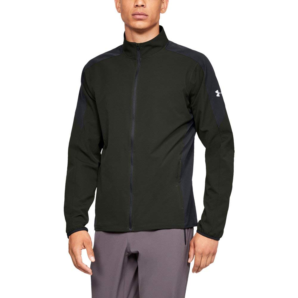 Under Armour Men's Storm Out & Back Jacket, Artillery Green, Small by Under Armour