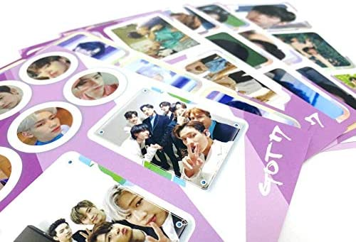 Extra Decorative Stickers Full Set ver. Photocards Breath of Love : Last Piece GOT7 Pre Order 7CD+7Photobook+7Folded Poster+Others with Tracking 4th Album