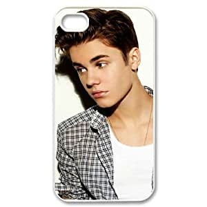 Justin Bieber DIY Cover Case for Iphone 4,4S,personalized phone case ygtg-700337