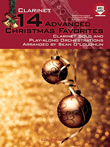 WF135 - 14 Advanced Christmas Favorites: Clarinet Christmas Favorites Clarinet