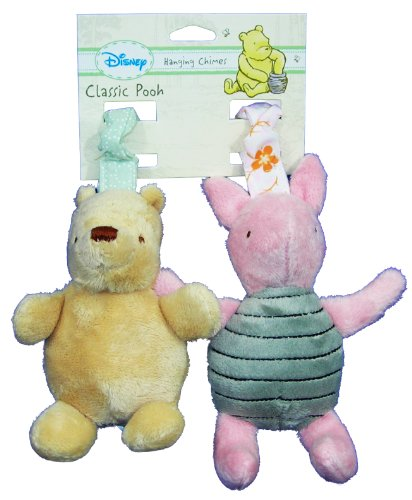Disney Classic Pooh Hanging Chimes Winnie The Pooh and Piglet Baby Toy, Baby & Kids Zone