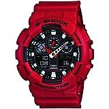 G-Shock GA-100B-4ADR Watch Red 0