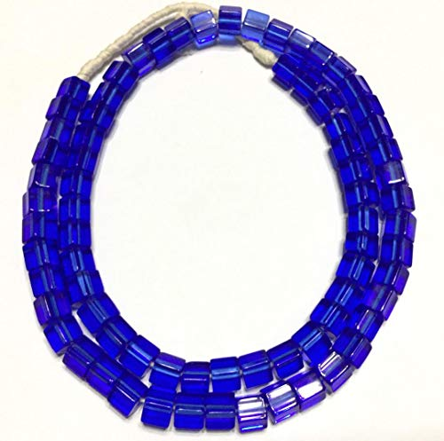 Fine Vintage Russian Blue Glass African Trade ()