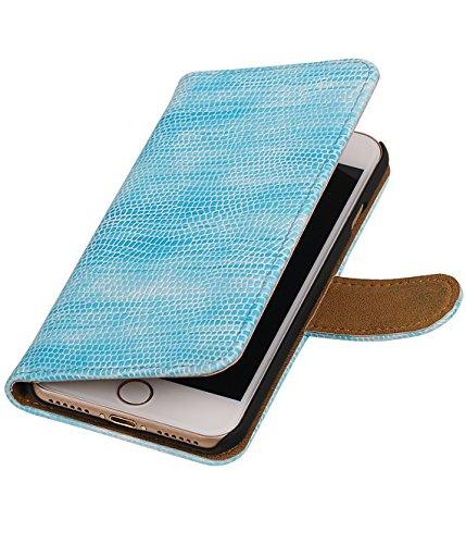 MobileFashion Lézard Book Cases pour Iphone 6 Portefeuille Case Cover Booktype avec Slots pour cartes et support