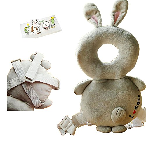 lucky-staryuan-baby-head-shoulder-protector-safety-pads-for-baby-walkers-grey-rabbit