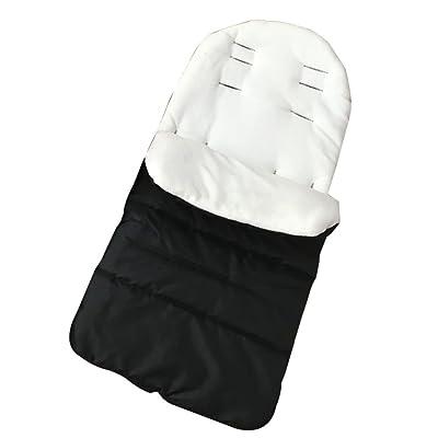 Livecity bébé Poussette de siège de voiture enveloppe Forme Sac Landau chaud Tapis de sacs