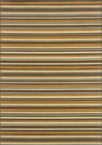 Oriental Weavers 1001J Bali Outdoor/Indoor Area Rug, 2-Feet 5-Inch by 4-Feet (Oriental Com)
