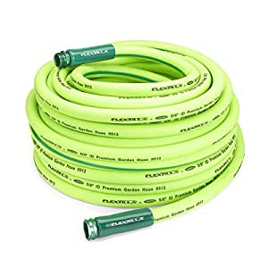 "Legacy HFZG5100YW Flexzilla 5/8"" x 100' Hybrid Garden Hose with 3/4"" GHT Ends (Drinking Water Safe)"
