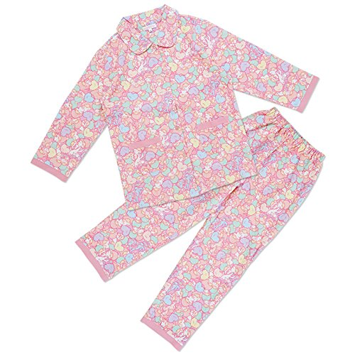 Sanrio Little Twin Stars knit quilt pajamas M size From Japan New