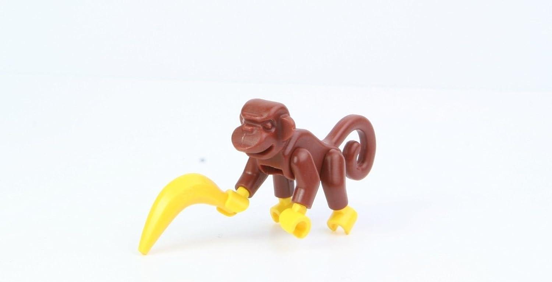 LEGO Animal Minifigure: Monkey with Banana (from Indiana Jones)