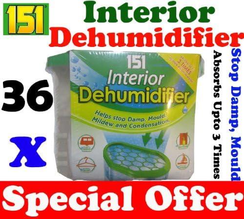36 x Interior Portable Dehumidifier De Humidifier Stop