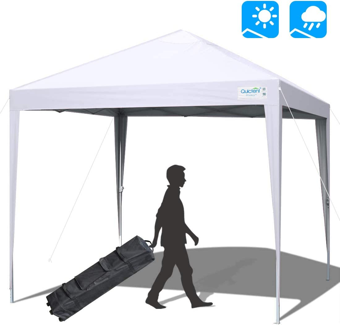 Quictent 10×10 Ez Pop up Canopy Tent Portable Outdoor Instant Canopy Shelter Portable Waterproof